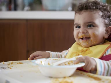 Baby food allergies and weaning