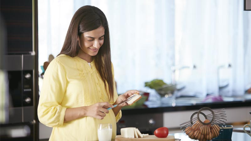 Should I be eating for two during my pregnancy?