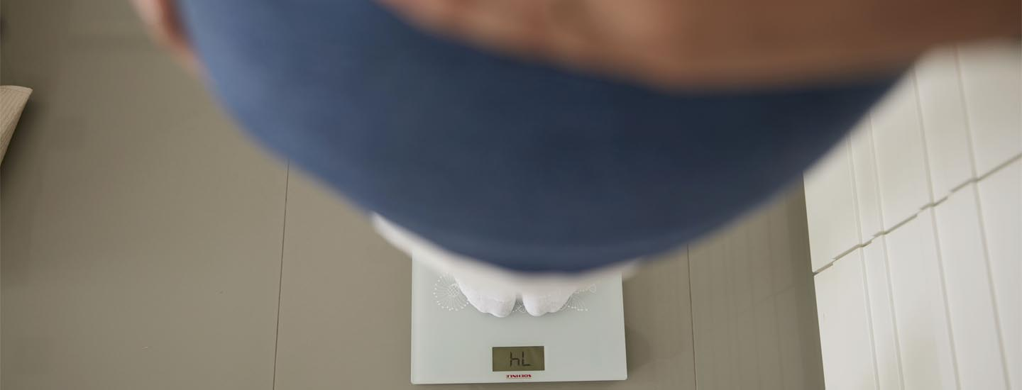 Putting on weight during pregnancy
